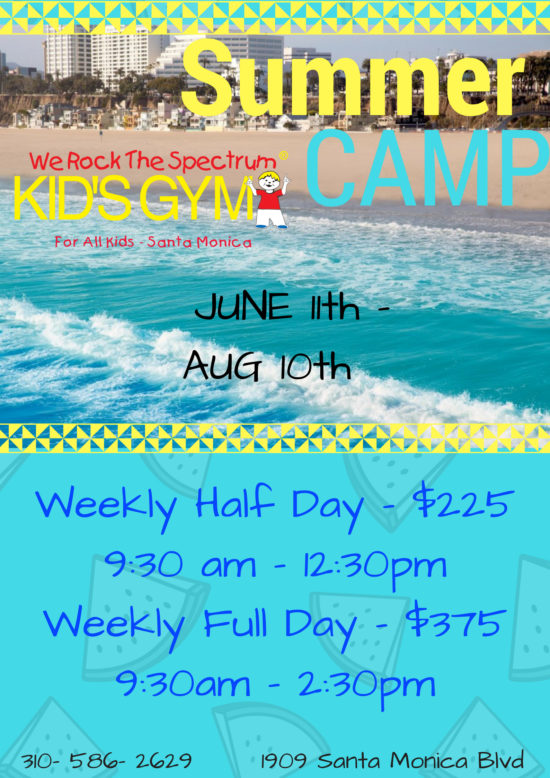 summer camp flyer weekly