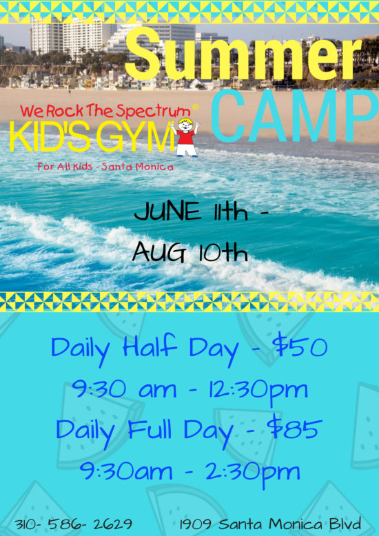 summer camp flyer daily